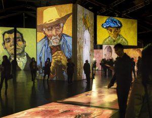 Van Gogh Alive exhibition image