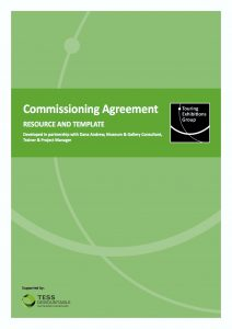 TEG Commissioning Agreement template cover